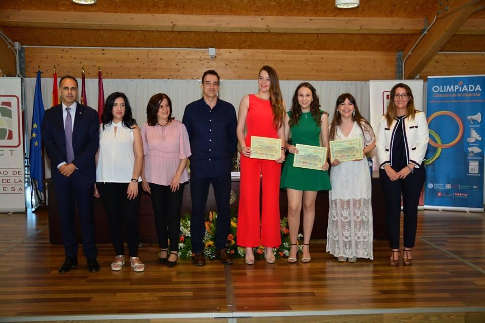 Premiados XV Olimpiada de Ciencias de la Empresa