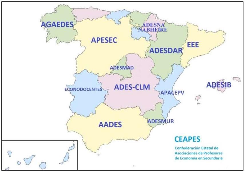 CEAPES mapa